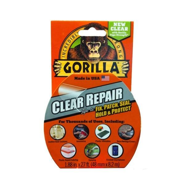 GORILLA CLEAR REPAIR ultra erős ragasztószalag